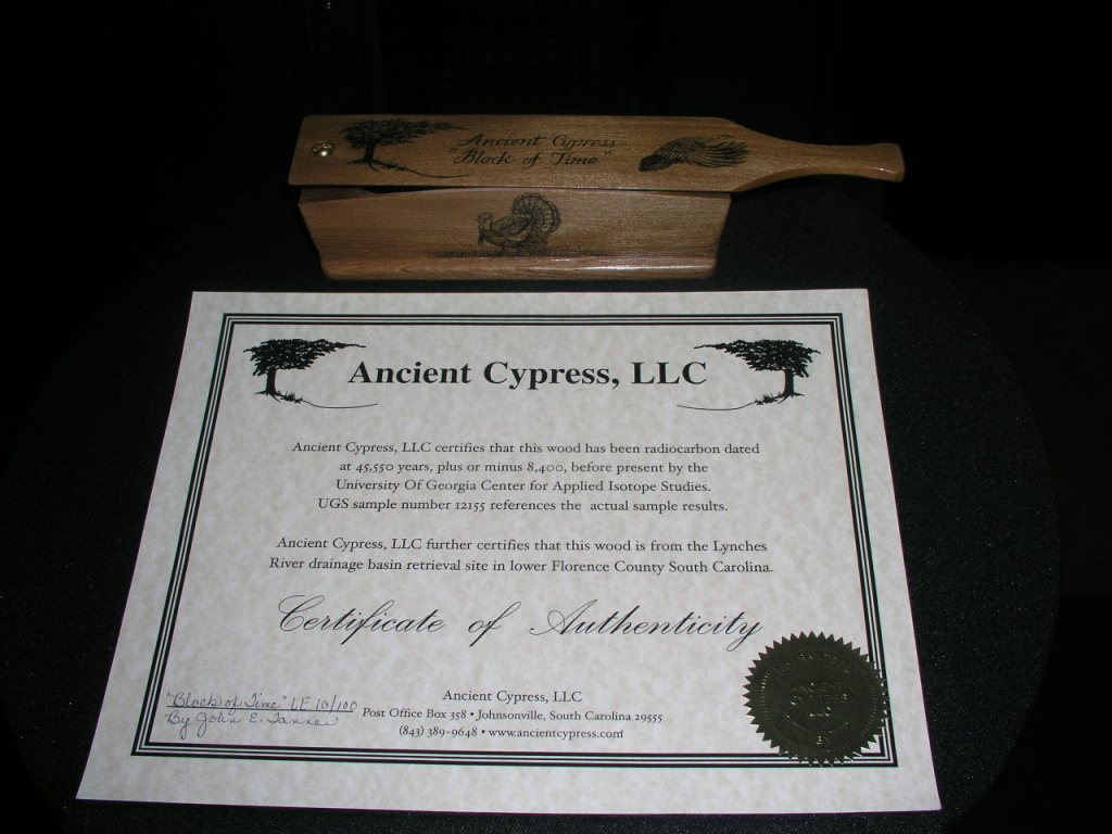 image of Ancient Cypress certification